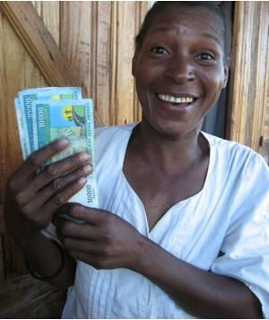 Money really does make the world go round